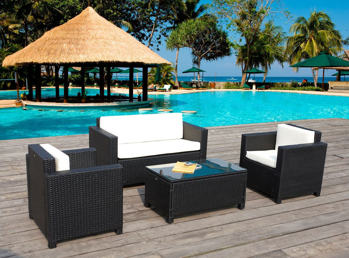 how to take care tips for patio furniture rattan and wicker - Garden Furniture Delhi