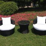 Rattan Effect Egg Patio Furniture Set |  Rattan Effect Garden Furniture