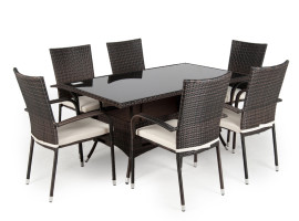 Rattan Garden Furniture Dining Sets