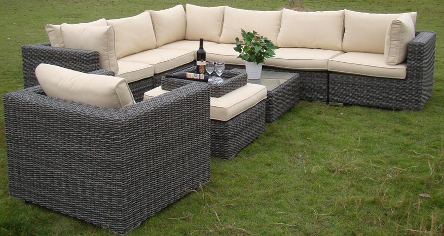 Some Rattan Outdoor Furniture A Sofa Set Something Like This
