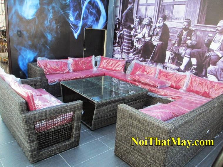 Outdoor wicker sofa set Karaoke King
