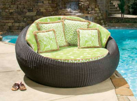 rattan and Wicker outdoor furniture