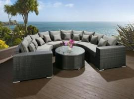 Outdoor Rattan Sofa Suite Sets
