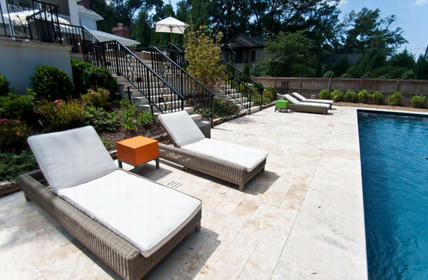 The Comfy Wicker Lounge Chairs At Your Outdoor Living