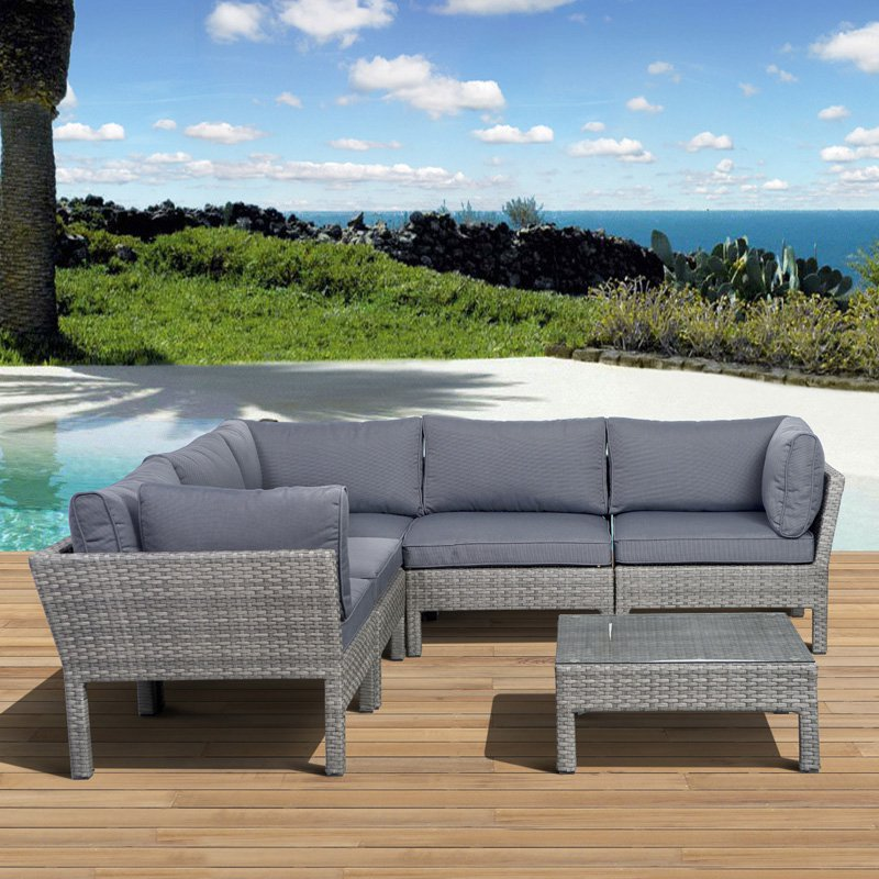 Durable Resin Wicker Outdoor Furniture To Add Coziness