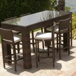 Wicker Garden Bar Set