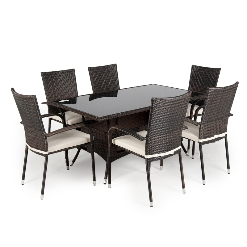 Rattan Garden Furniture Dining Sets