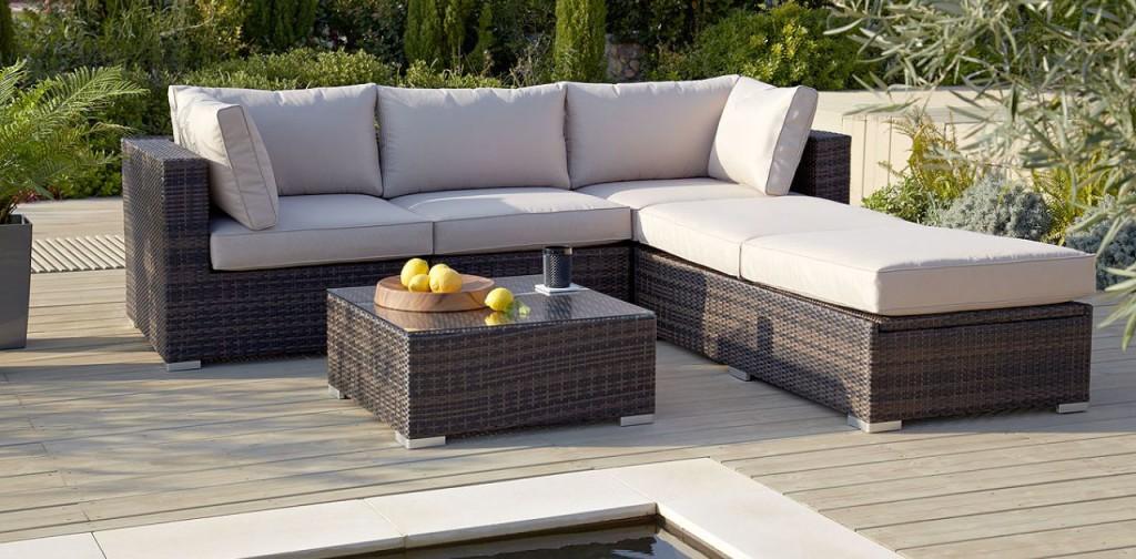 Rattan Garden Furniture Sofa Set