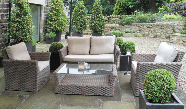 Rattan Garden Furniture sofa