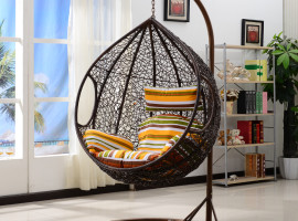 Rattan Garden Swing Seat