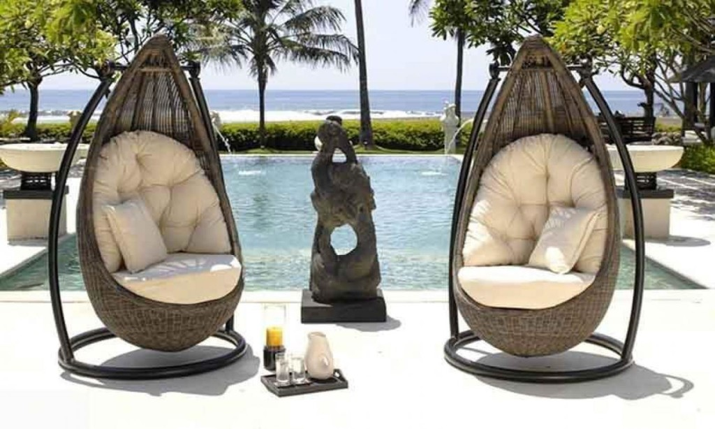 Rattan Wicker Swing Chair