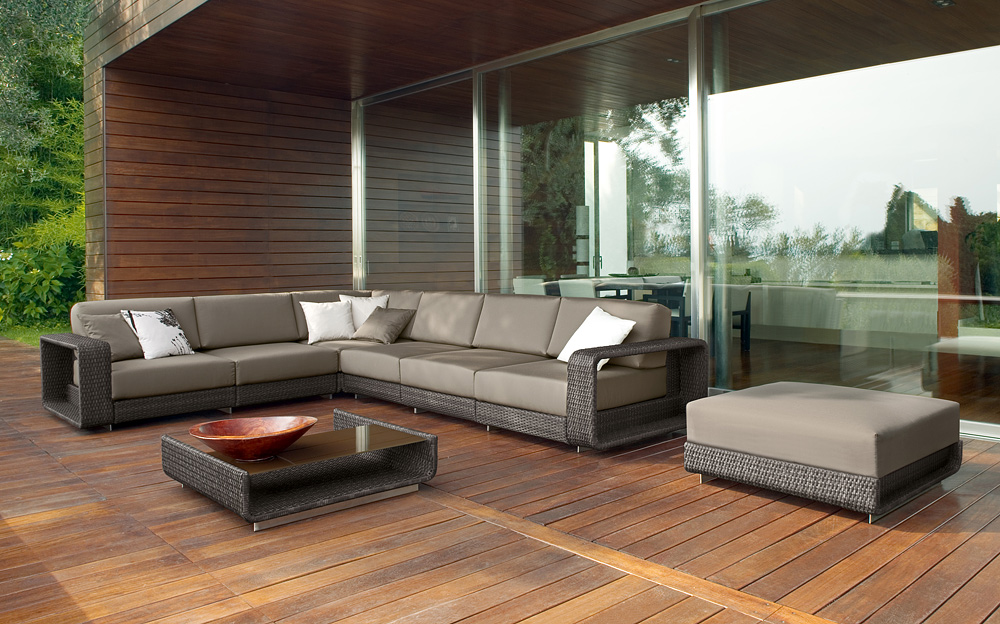 Rattan sofa Garden Sofa of Outdoor Furniture -