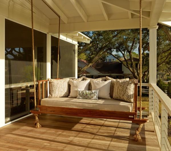 Outdoor Swing Sofas Rustic Sofa
