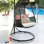 Rattan Garden Furniture Swinging Chair