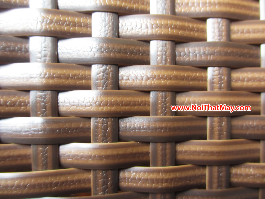 Outdoor furniture with material rattan and wicker for Best material for outdoor furniture