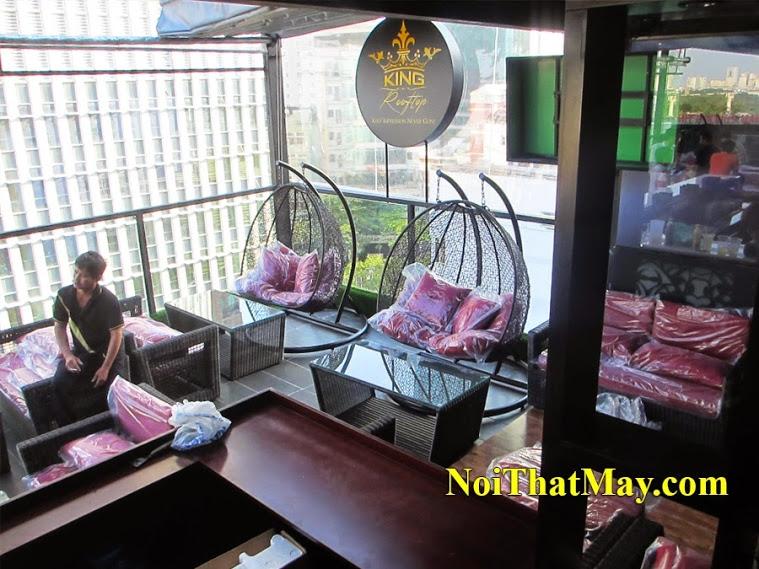 outdoor wicker swing chair Karaoke King