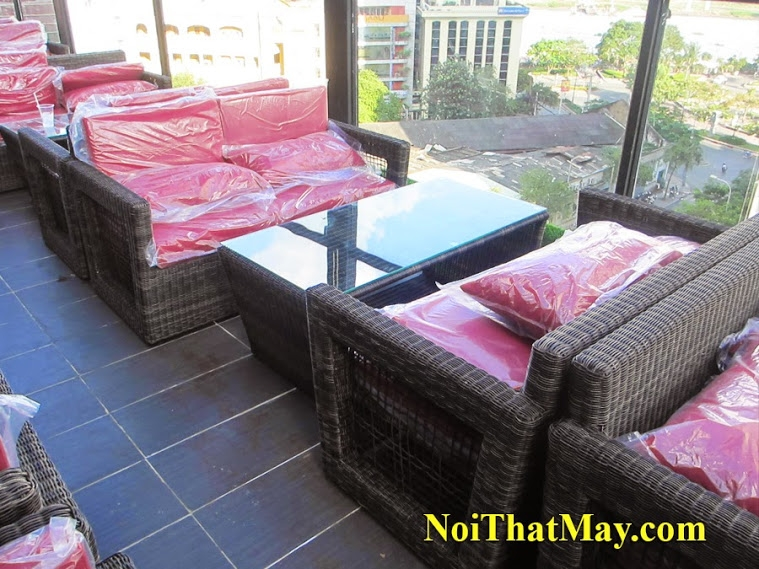 Outdoor wicker sofa set Karaoke King