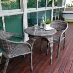 Rattan Garden Furniture Dining Set