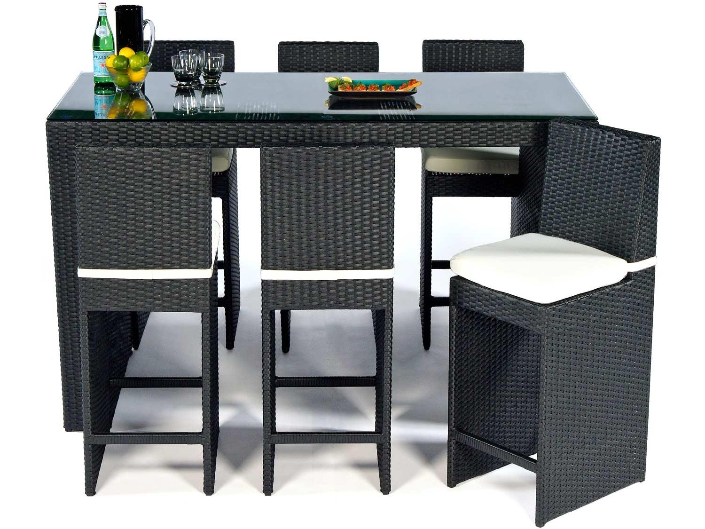 Rattan furniture bar
