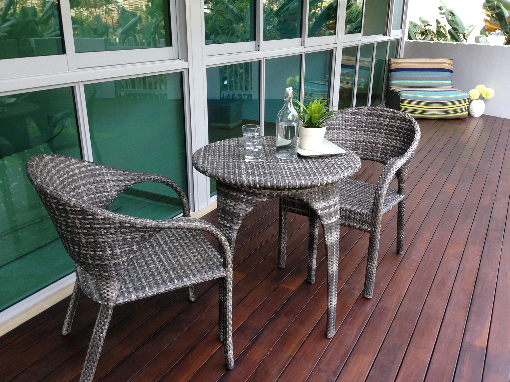 What about synthetic rattan furniture?