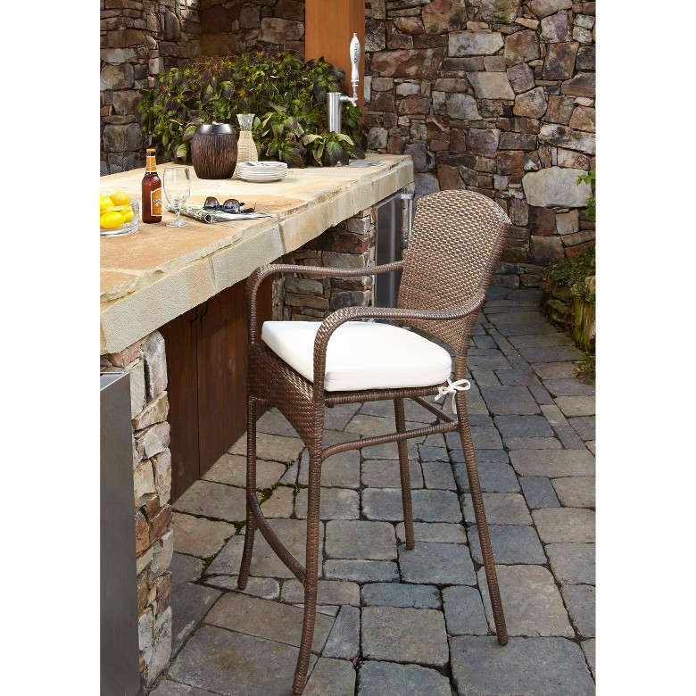 Outdoor Wicker Bar Set 814 | Wicker outdoor bar furniture