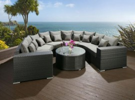 Outdoor Rattan Sofa Suite Sets