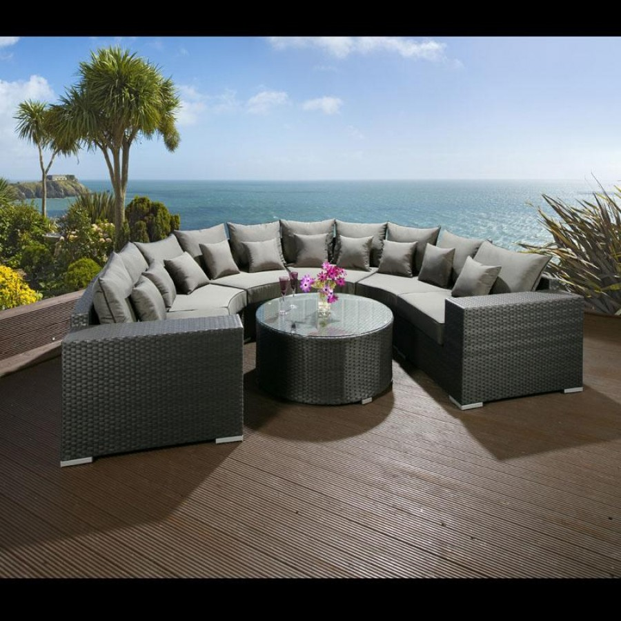 Outdoor Rattan Sofa Suite Sets |  rattan garden sofa furniture