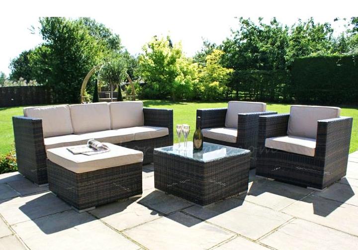 Outdoor Patio Sofa Set – Rattan Outdoor Patio Furniture