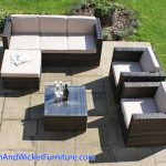 Outdoor Patio Sofa Set – Rattan Outdoor Patio Furniture