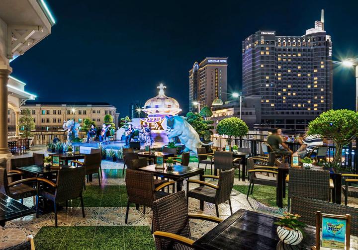 Hotel Rex | Rattan Garden Furniture Dining Set