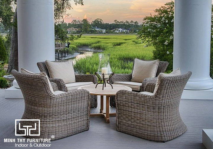 How to choose suitable wicker furniture